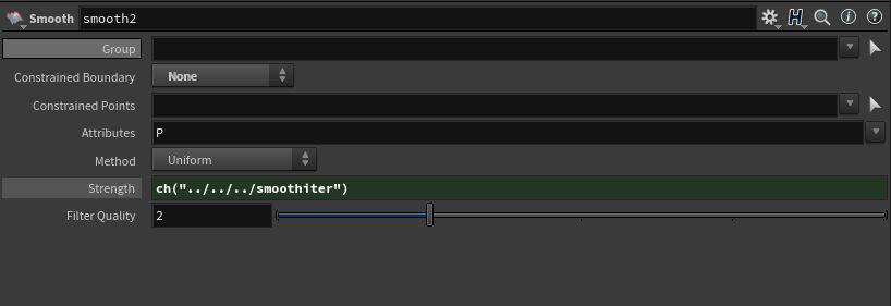 Smooth SOP settings H16.5